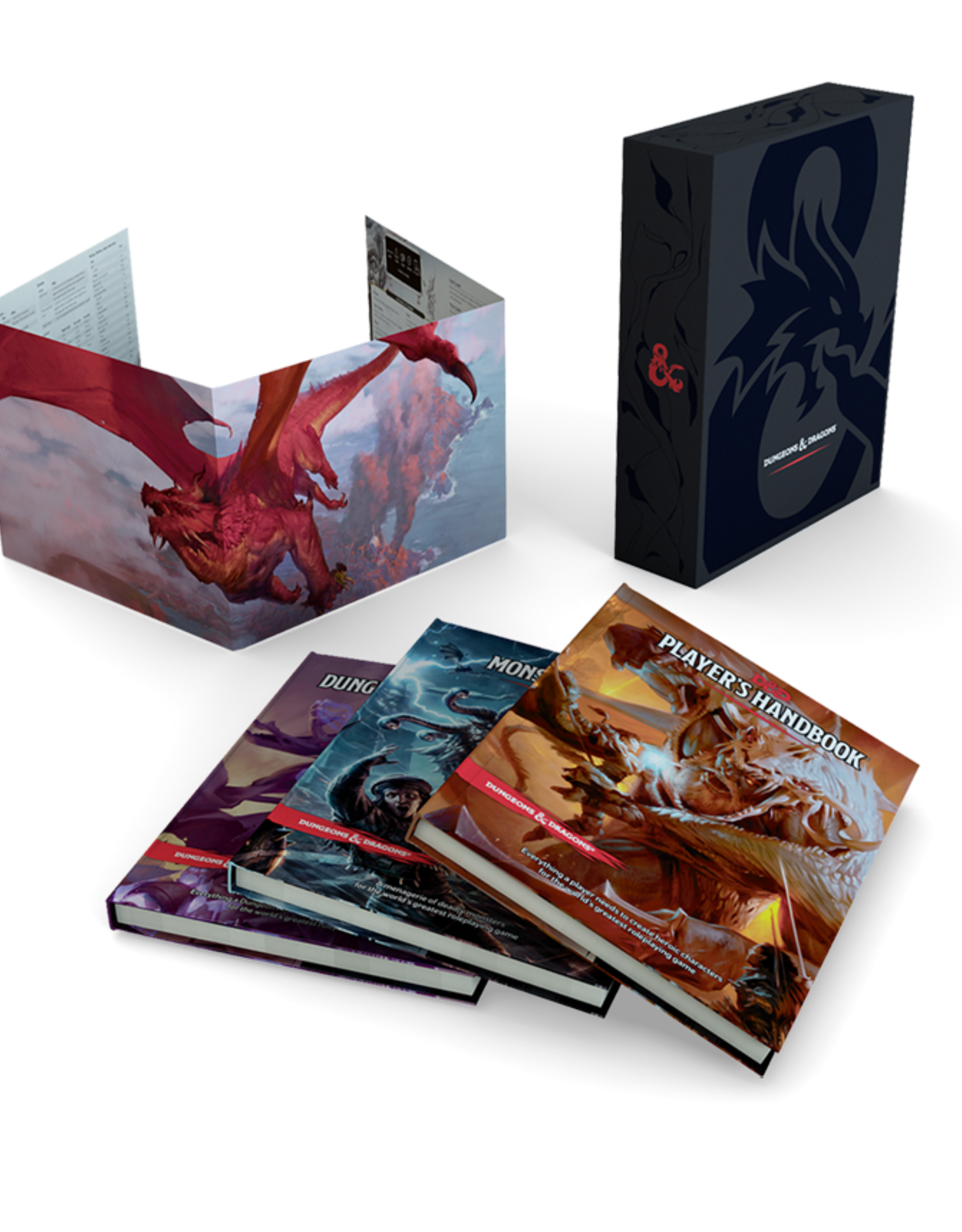 Dungeons & Dragons D&D 5th: Core Rulebook Gift Set