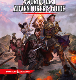 Dungeons & Dragons D&D 5th: Sword Coast Adventurer's Guide
