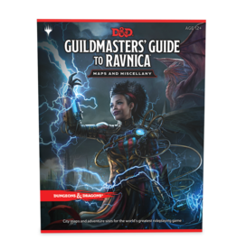 Dungeons & Dragons D&D 5th Guide to Ravnica Maps