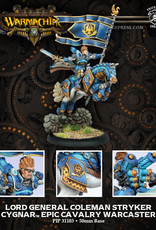 Warmachine Cygnar - Lord General Stryker