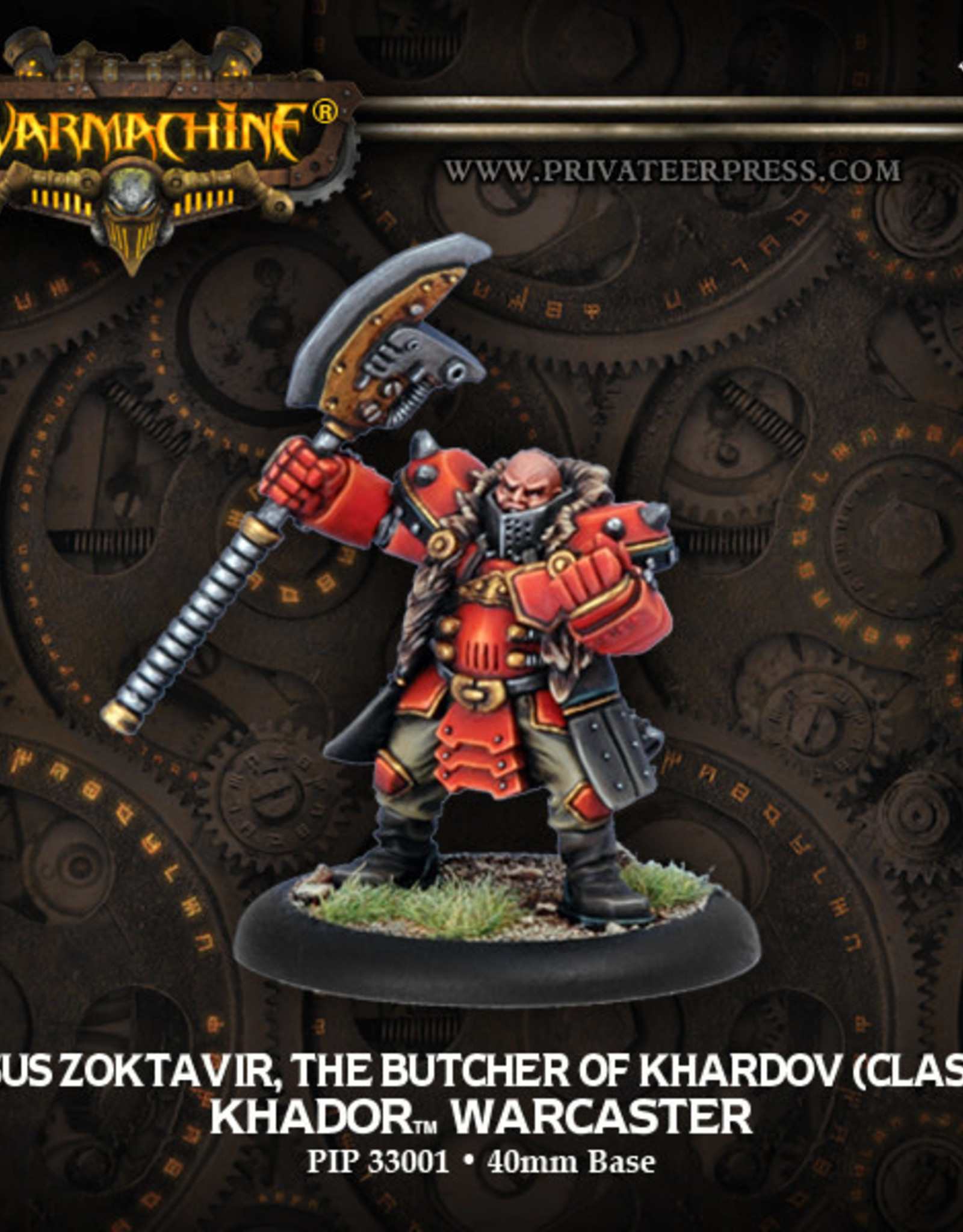 Warmachine Khador - The Butcher of Khardov