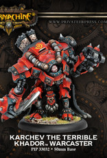 Warmachine Khador - Karchev the Terrible