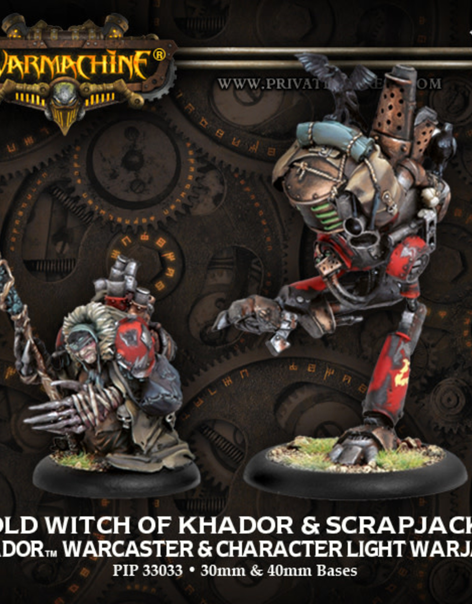 Warmachine Khador - Old Witch