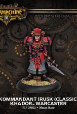 Warmachine Khador - Kommandant Irusk