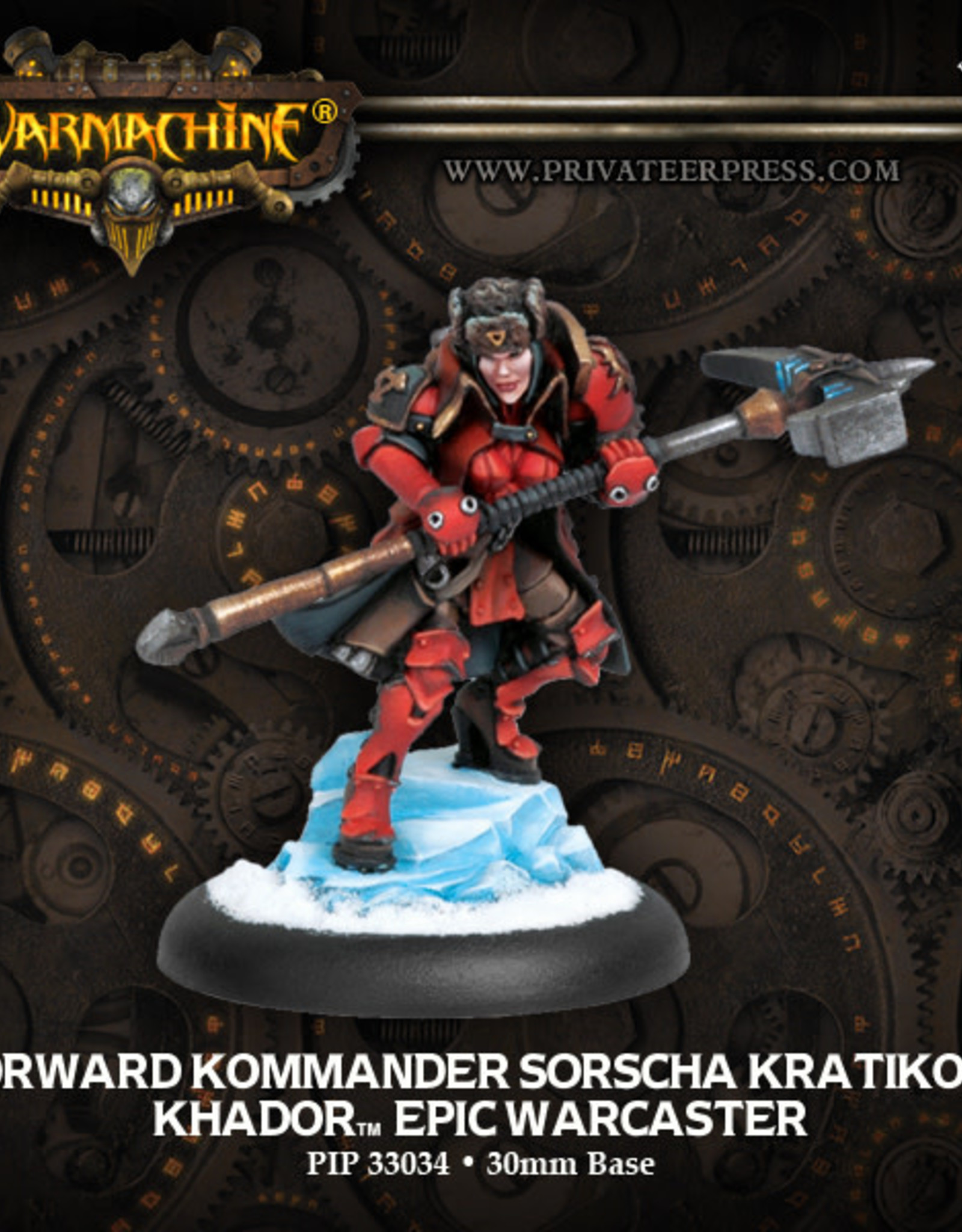 Warmachine Khador - Epic Sorscha