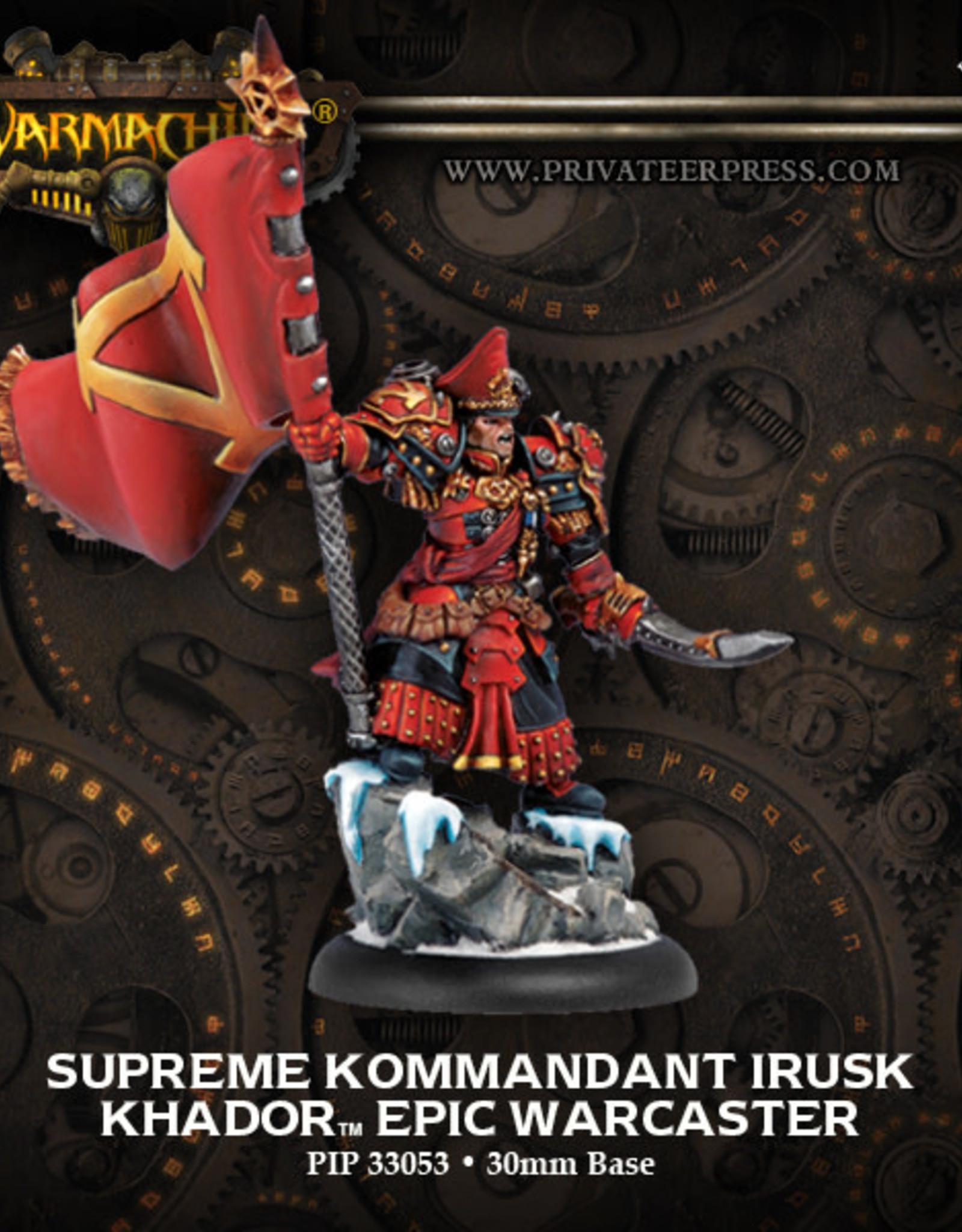 Warmachine Khador - Epic Irusk