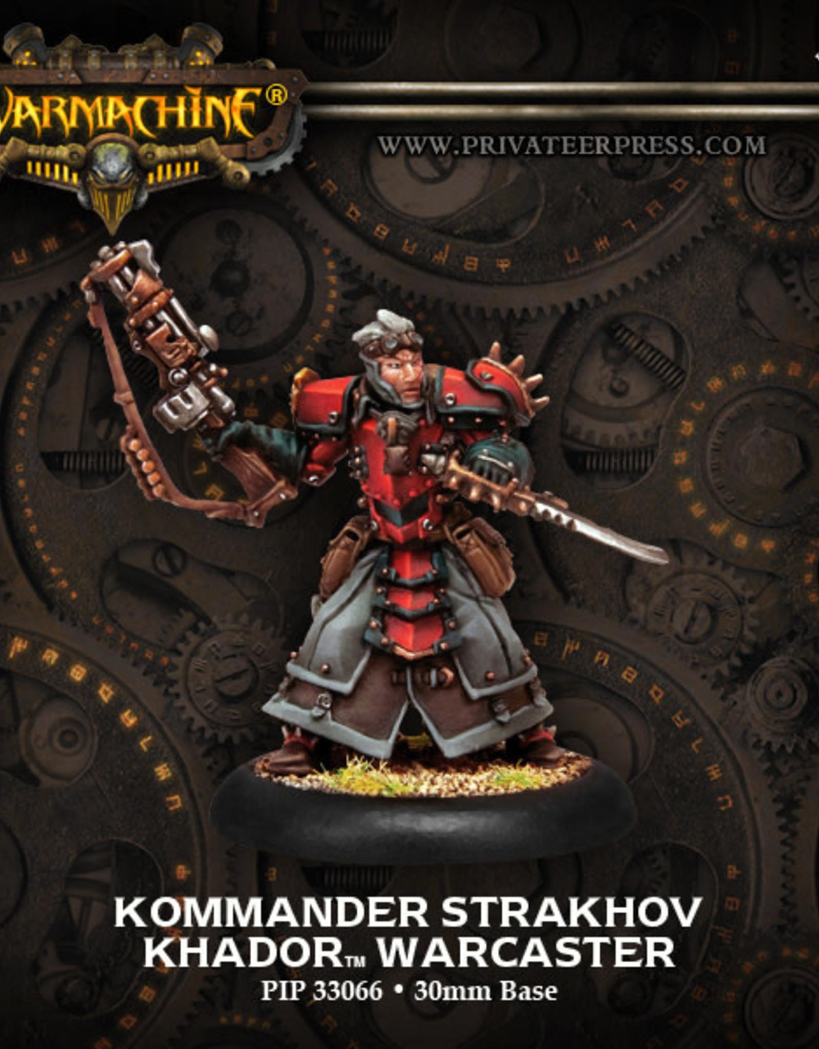 Warmachine Khador Kommander Strakhov