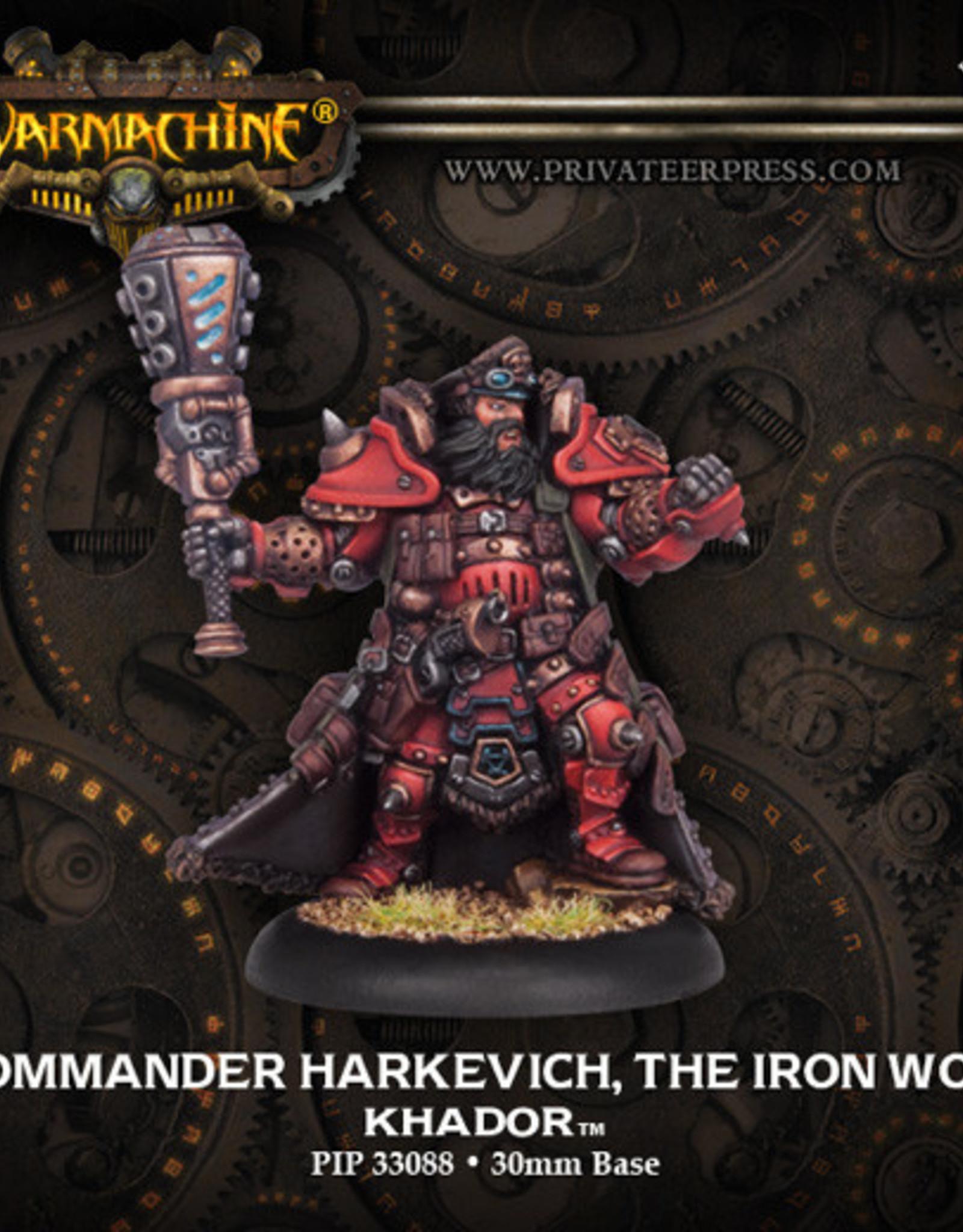 Warmachine Khador - Kommander Harkevich