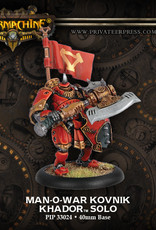 Warmachine Khador - Man-O-War Kovnik