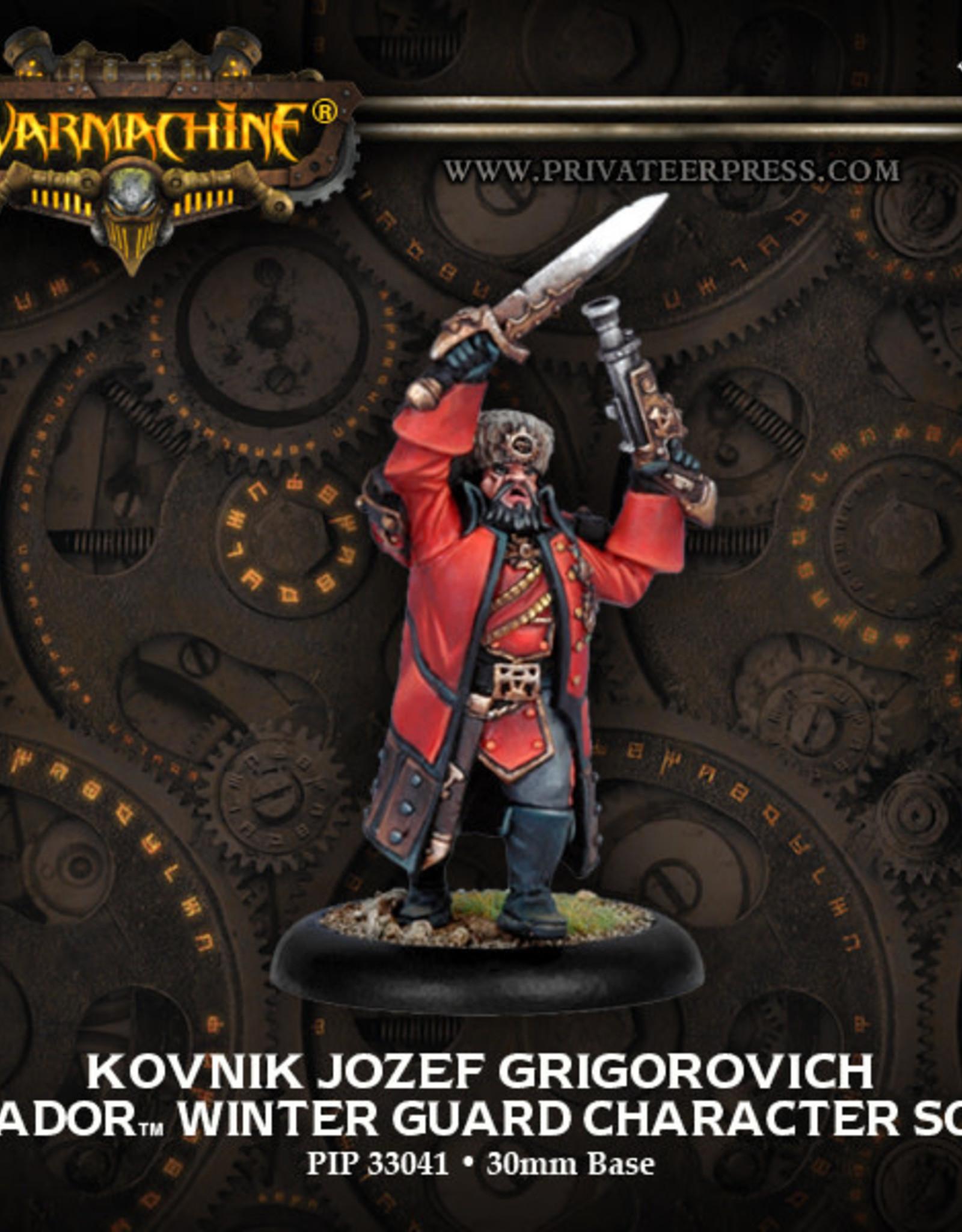 Warmachine Khador - Kovnik Jozef Grigorovich
