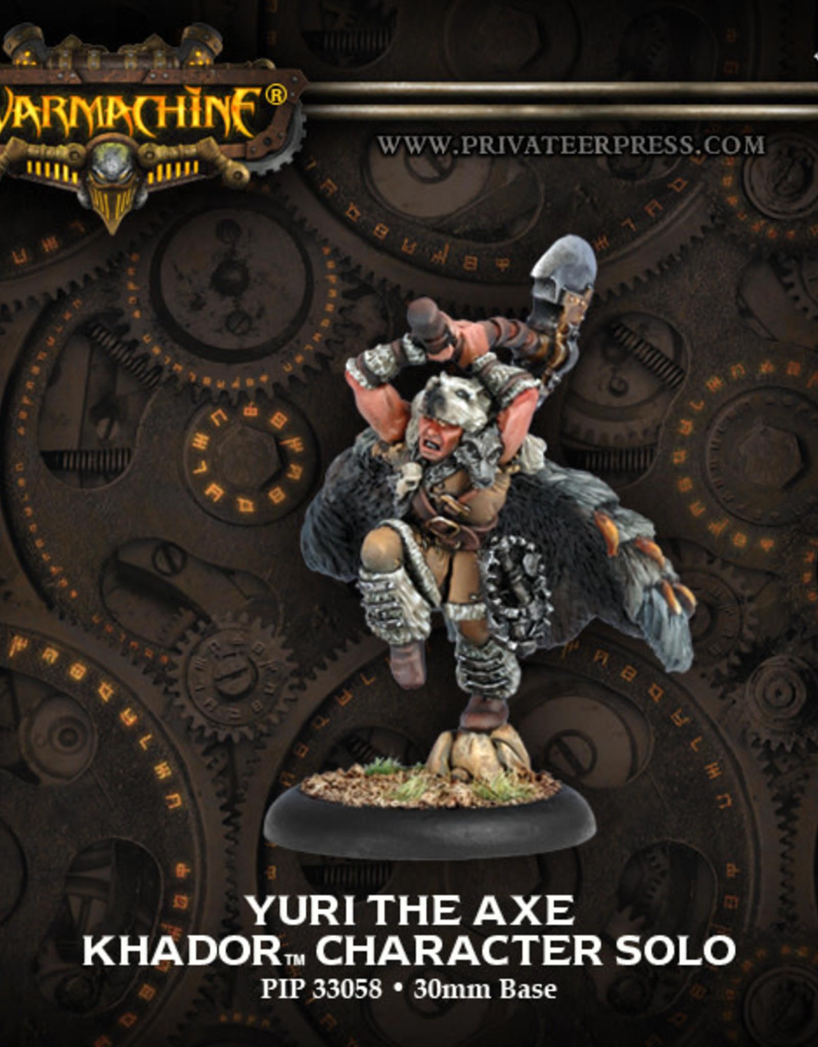 Warmachine Khador Yuri the Axe