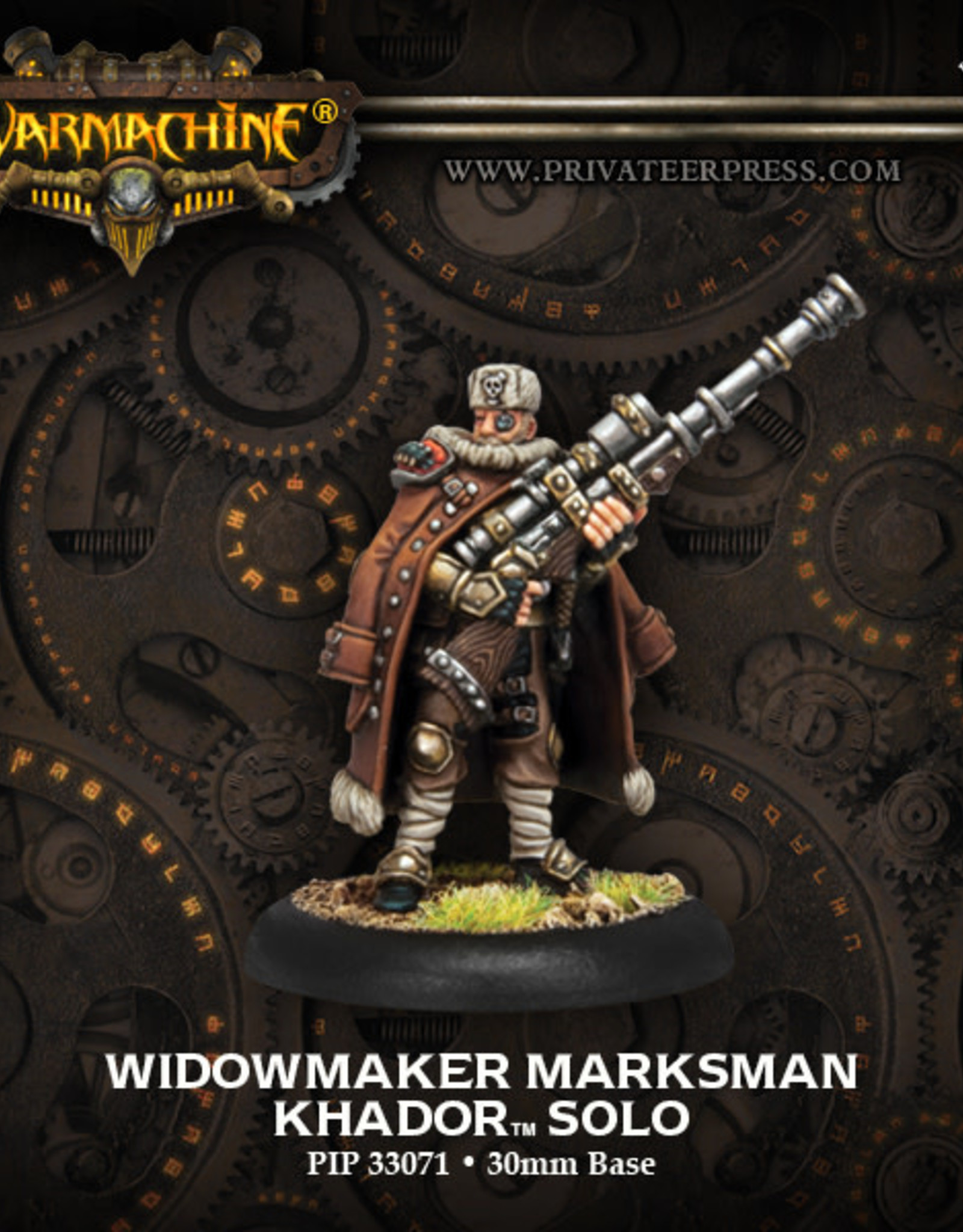 Warmachine Khador - Widowmaker Marksman