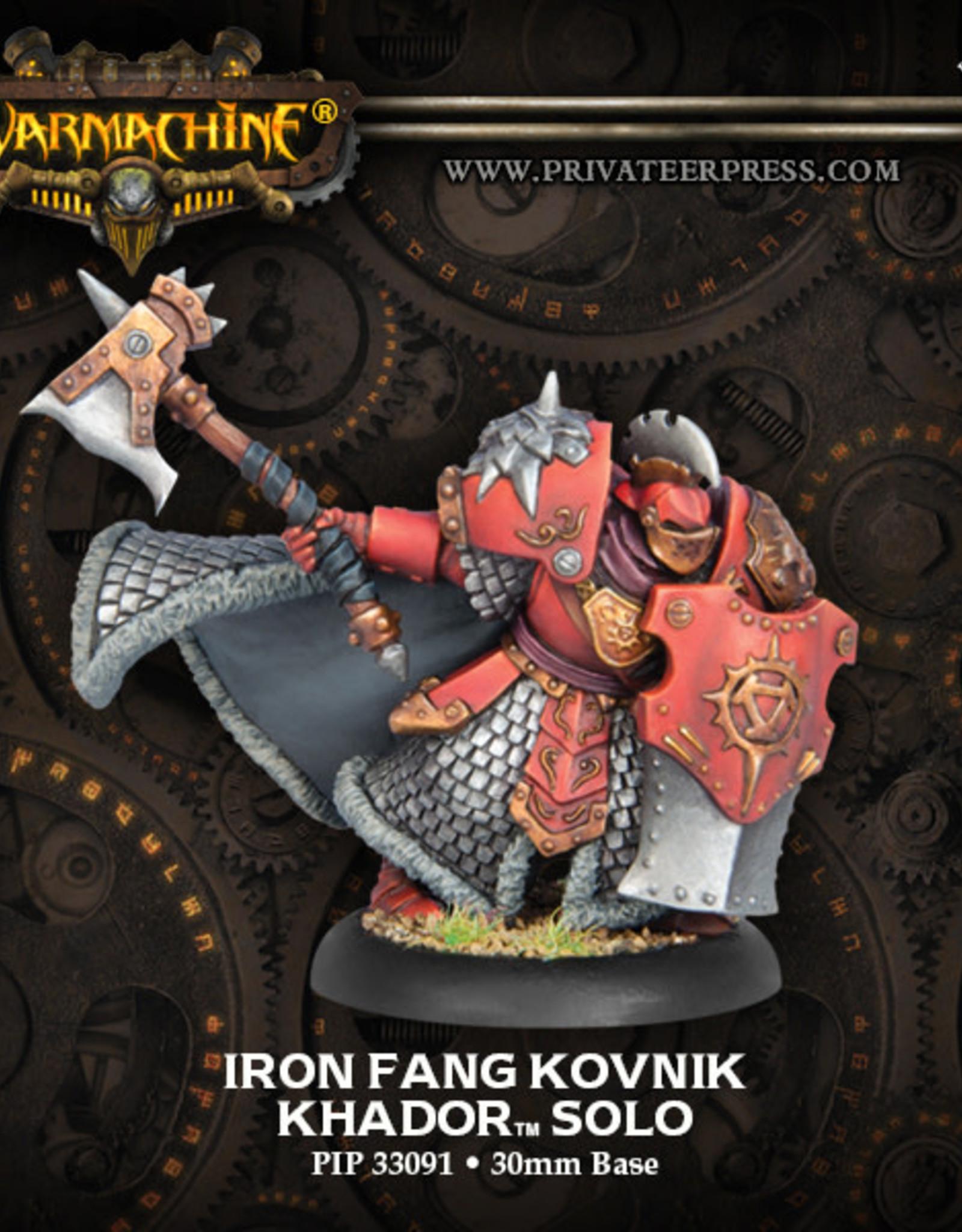 Warmachine Khador - Iron Fang Kovnik