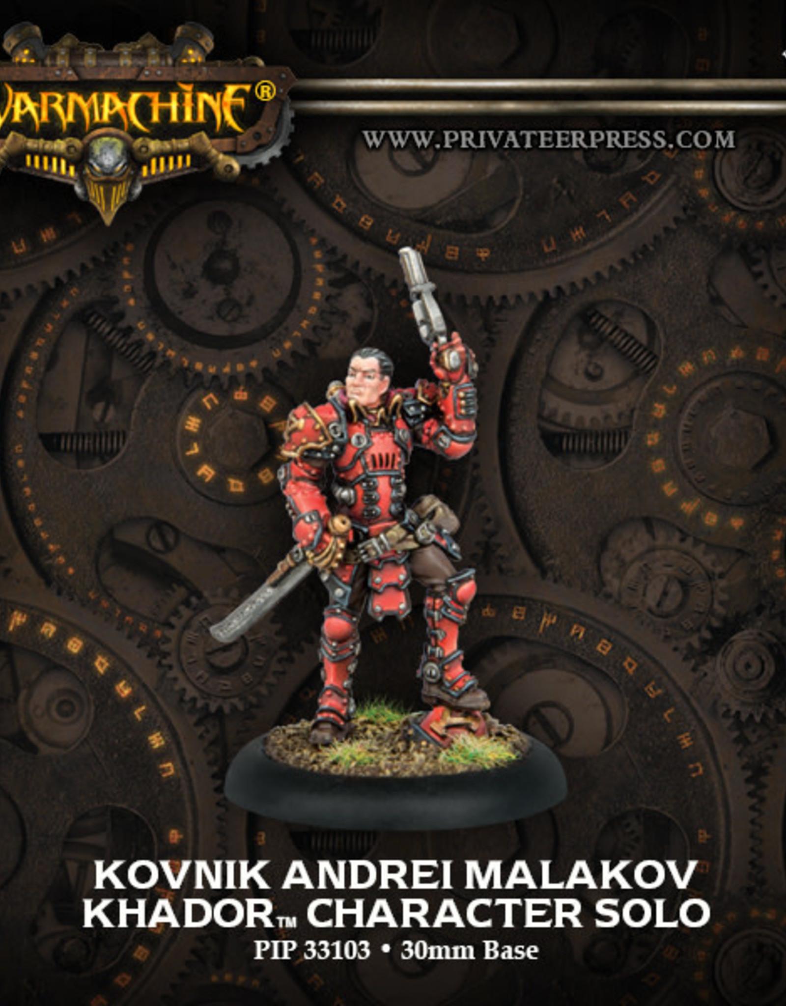 Warmachine Khador - Andrei Malakov