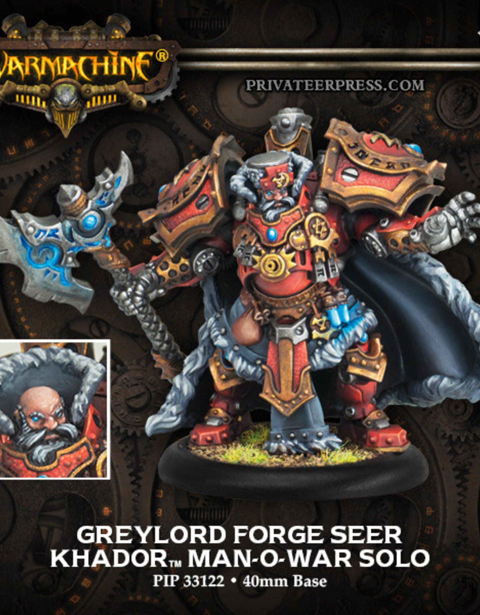 Warmachine Khador - Greylord Forge Seer