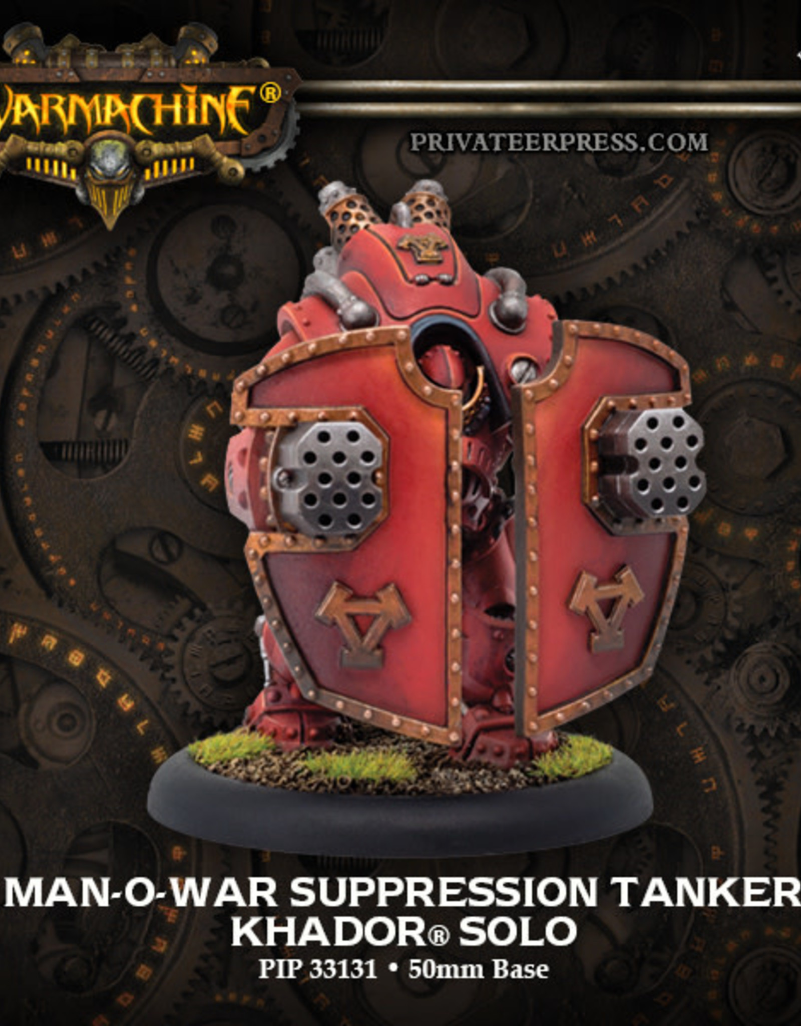 Warmachine Khador - Man-O-War Supression T