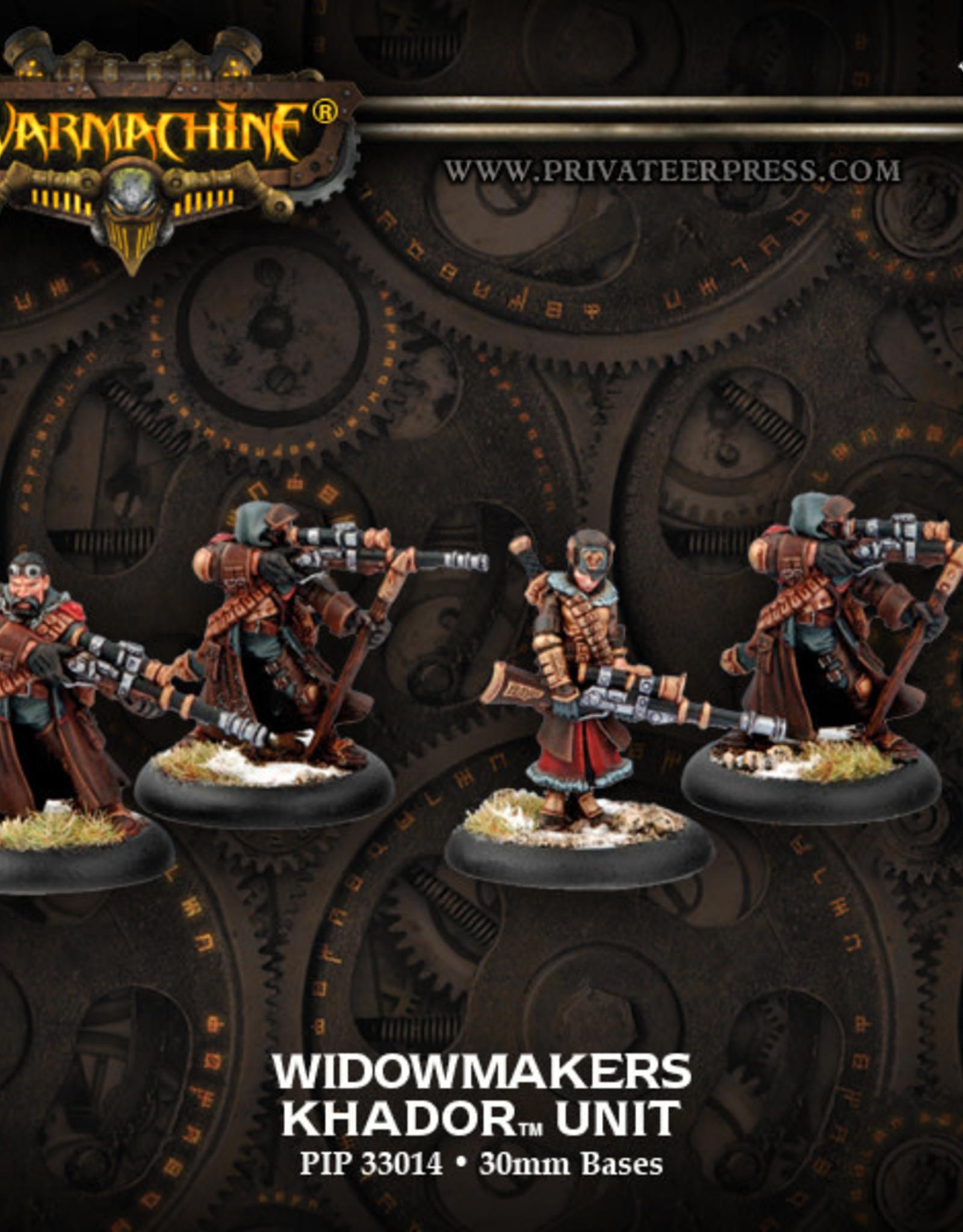 Warmachine Khador - Widowmaker Marksmen