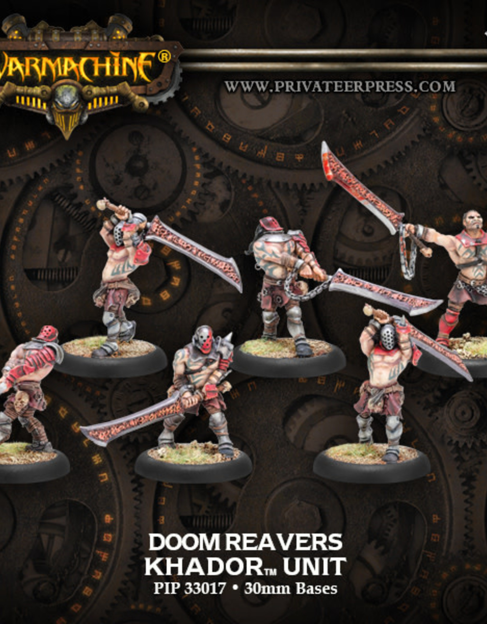 Warmachine Khador - Doom Reavers