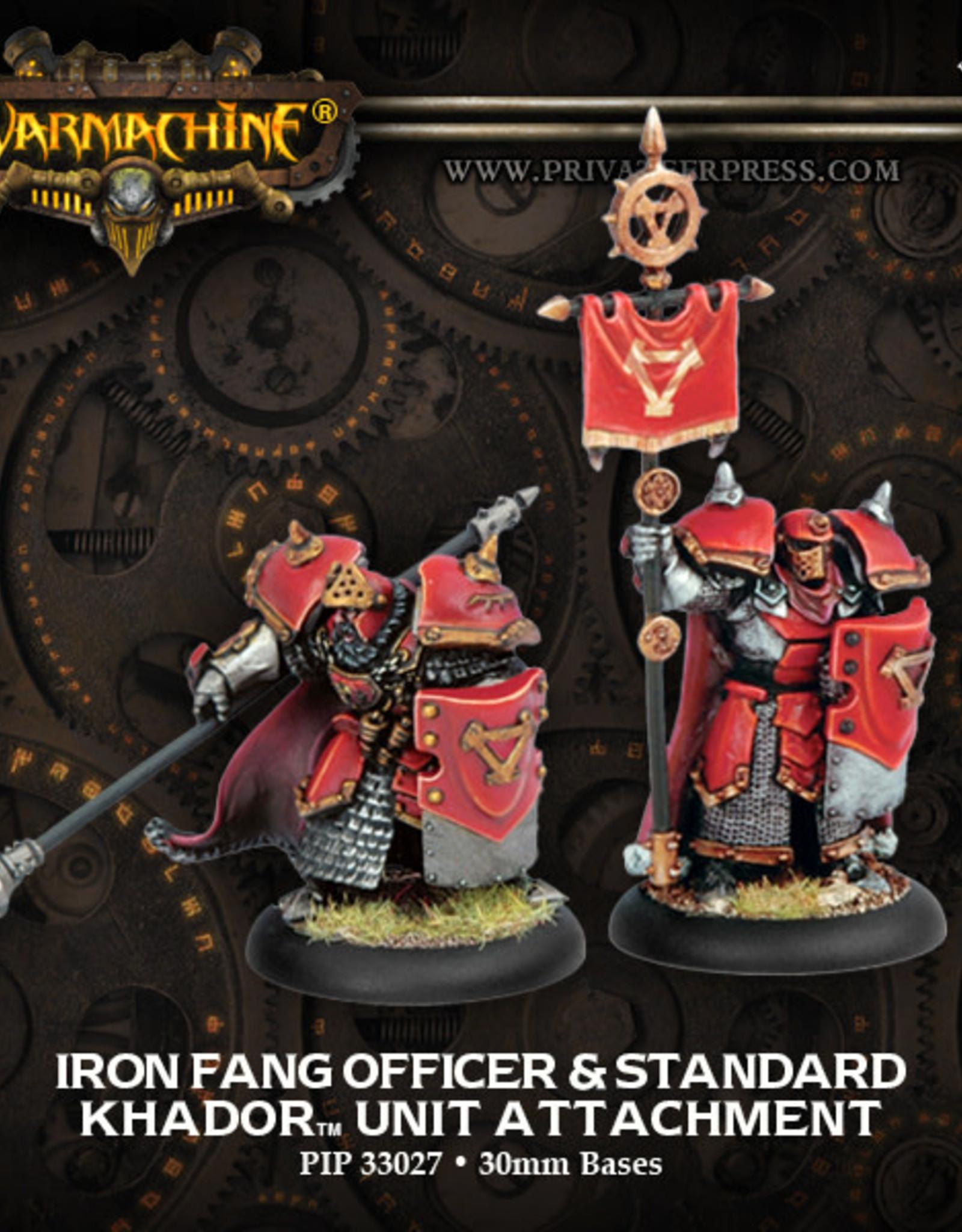 Warmachine Khador - Iron Fang Kapitan