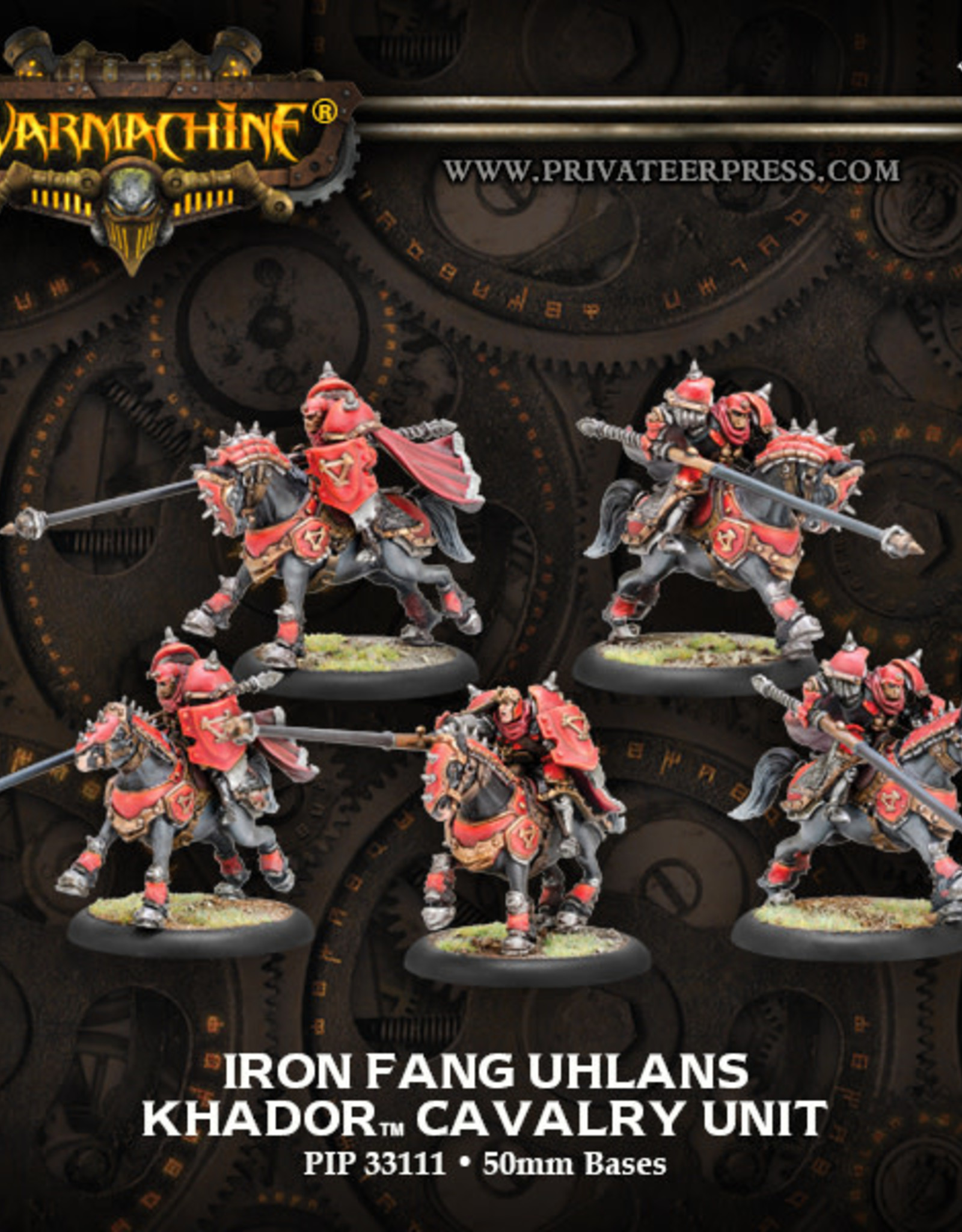 Warmachine Khador - Iron Fang Uhlans