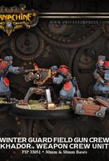 Warmachine Khador - Field Gun Crew