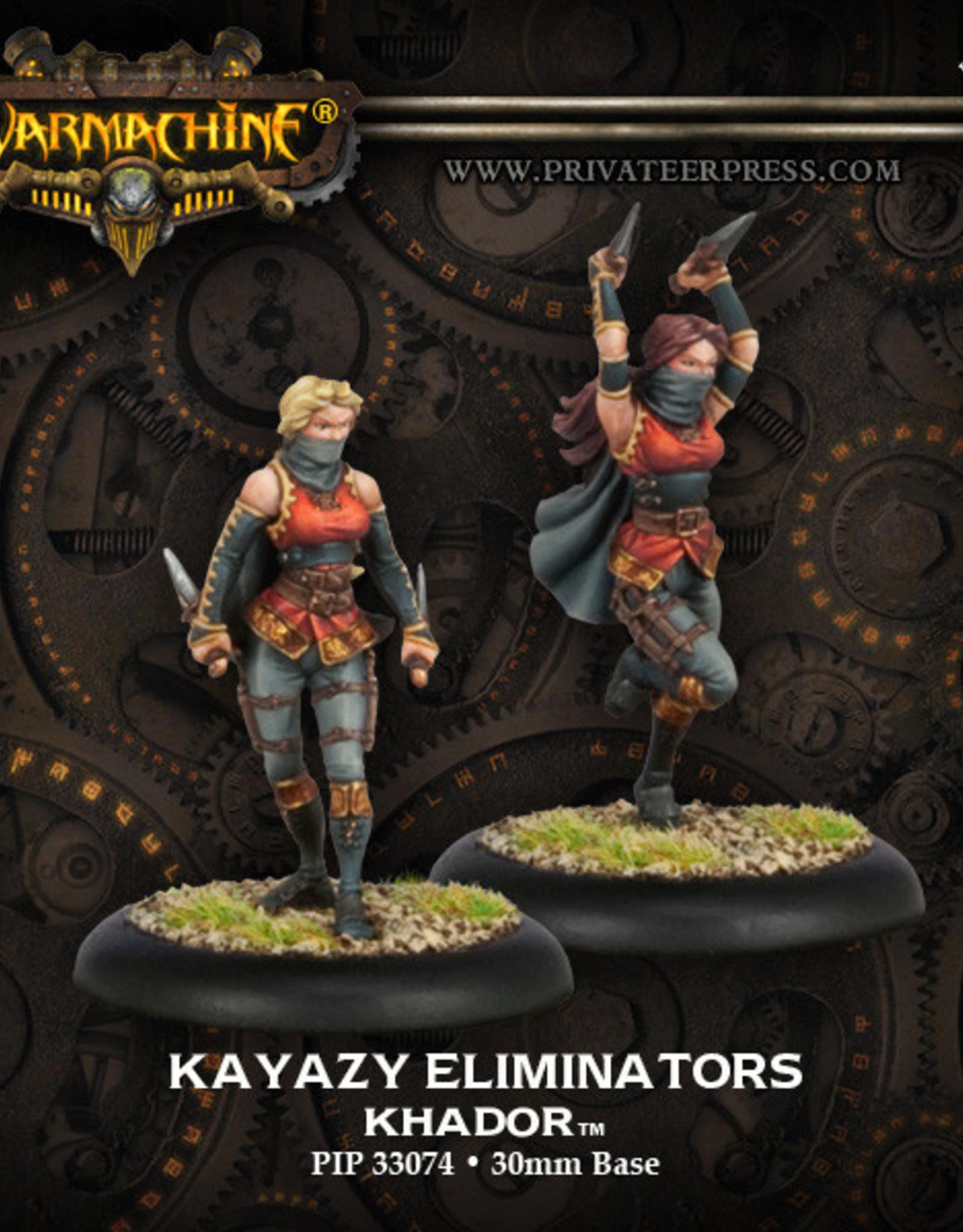 Warmachine Khador - Kayazy Eliminators