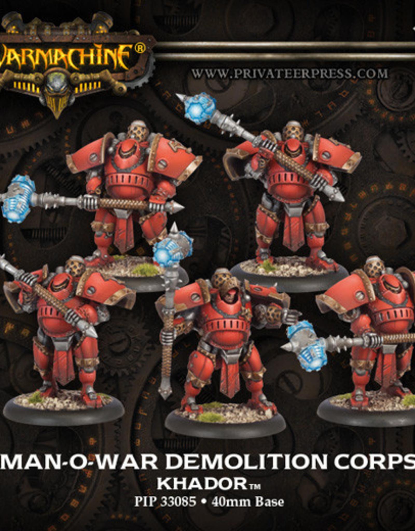 Warmachine Khador - Demolition Corps