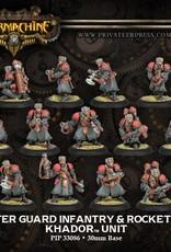 Warmachine Khador - Winterguard Infantry