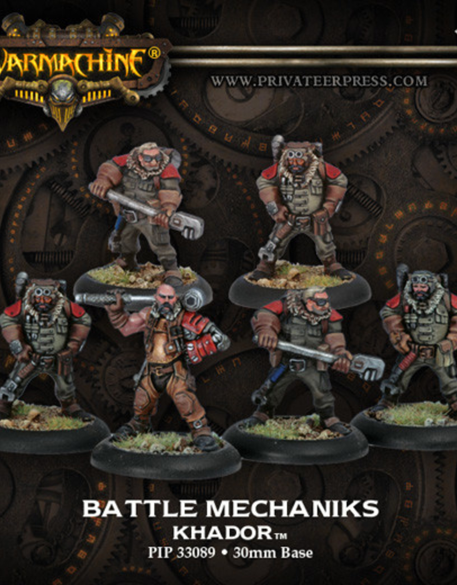 Warmachine Khador - Battle Mechaniks