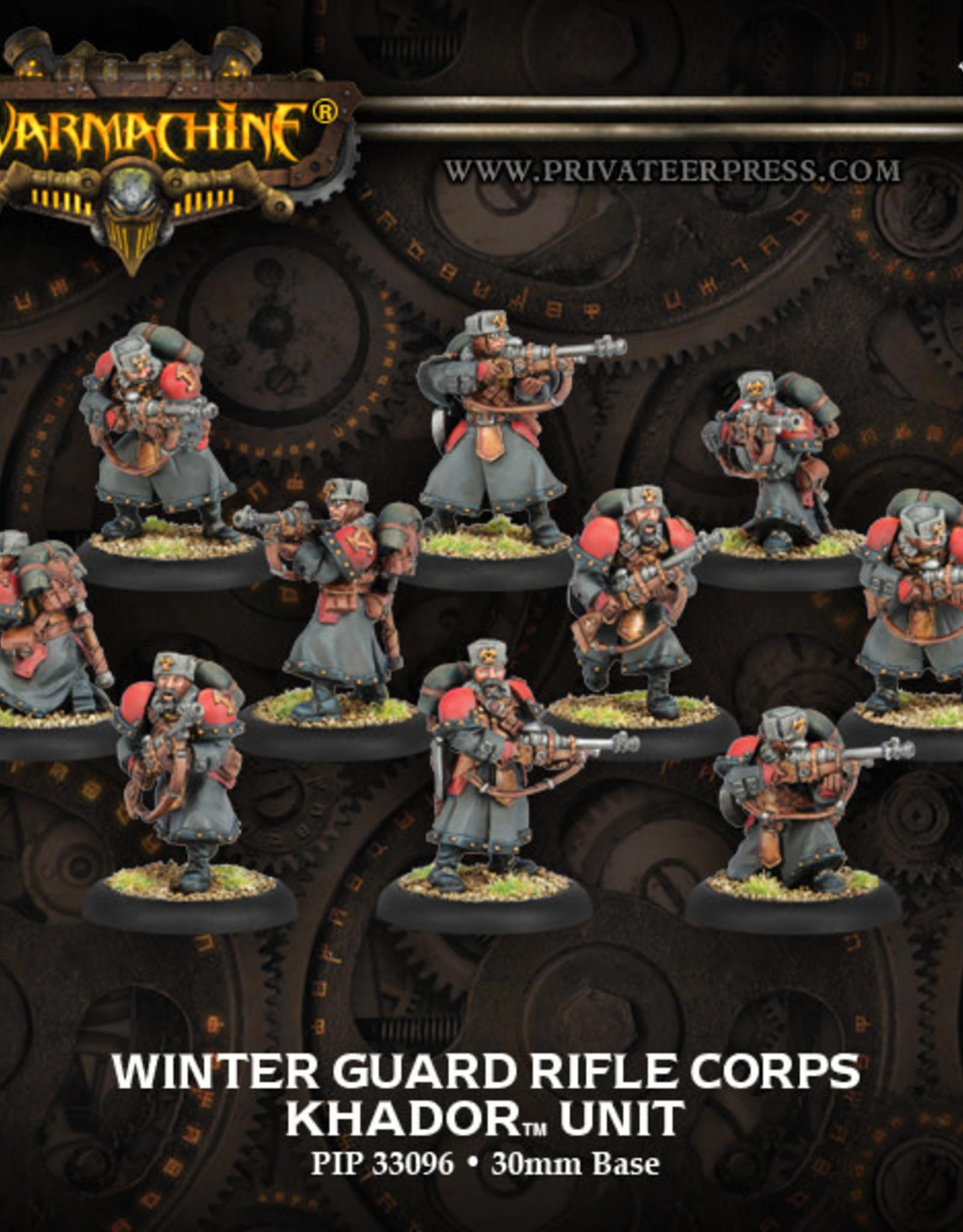 Warmachine Khador - Rifle Corps Plastic