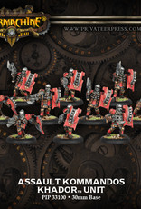 Warmachine Khador - Storm Kommandos
