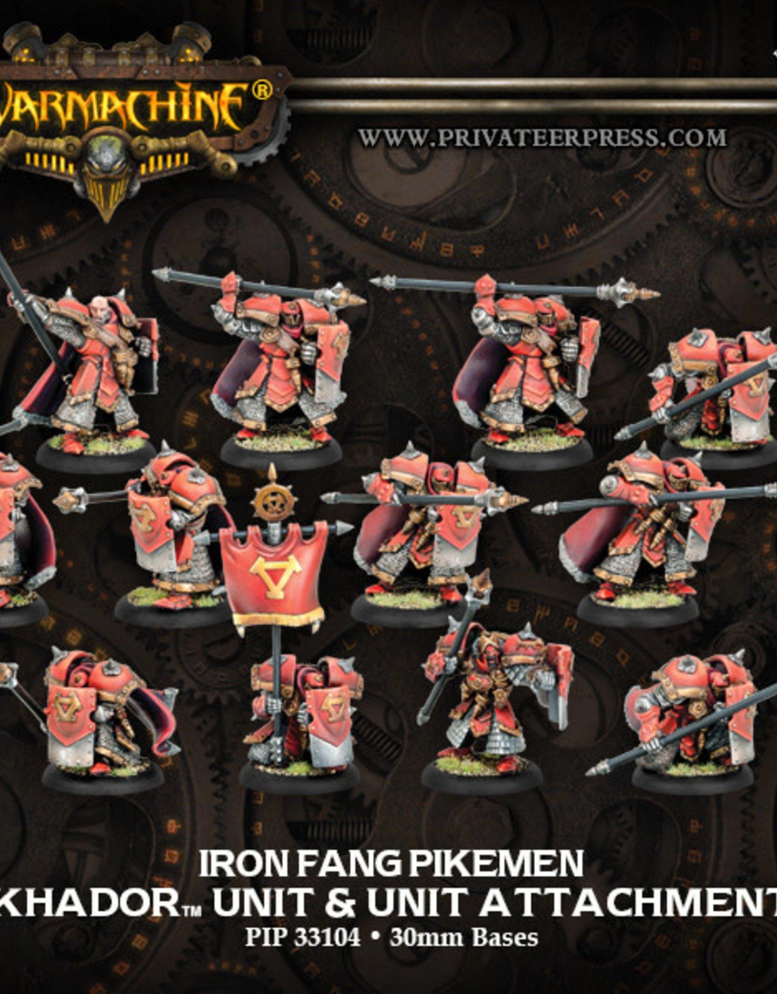 Warmachine Khador - Iron Fang Black Dragon