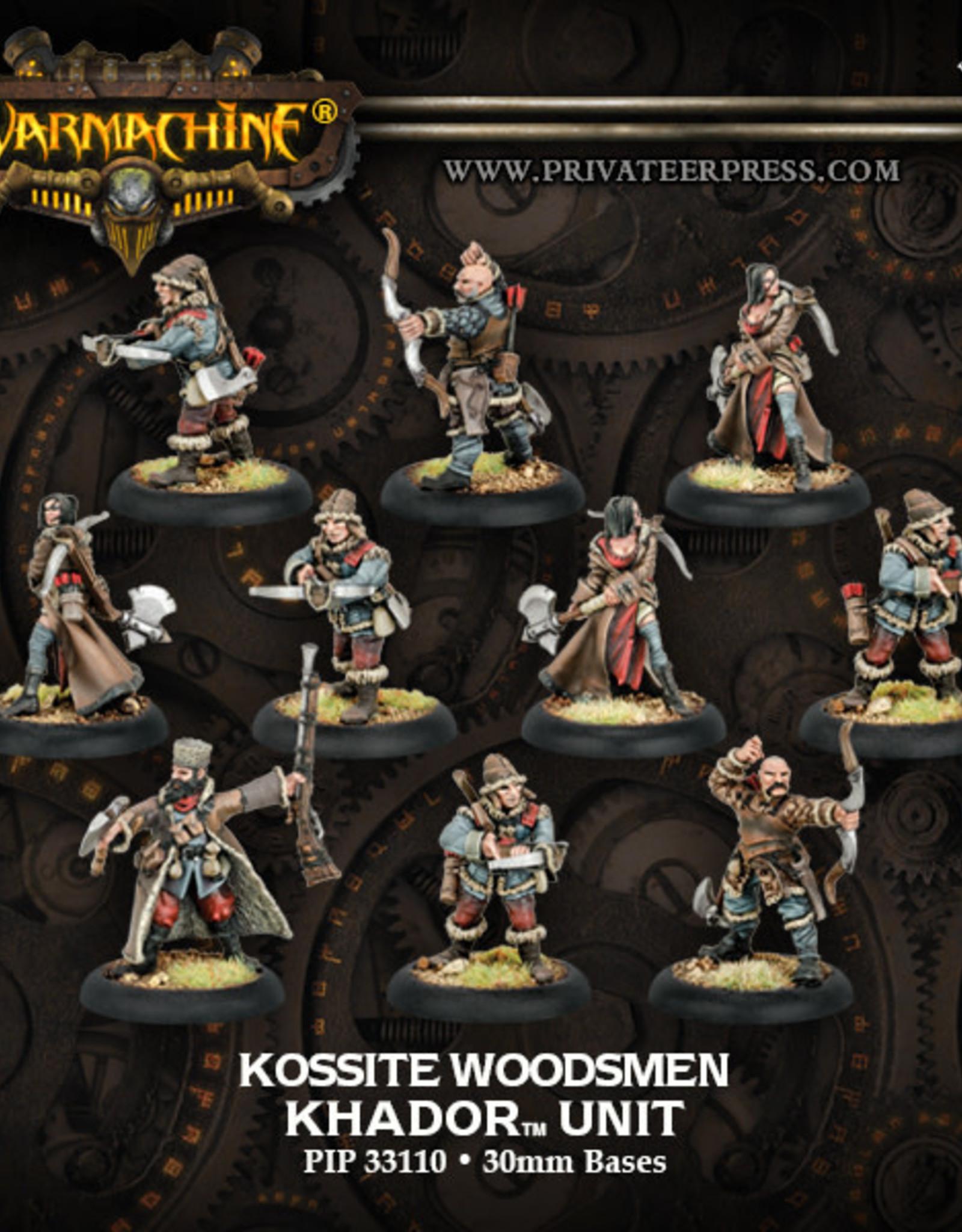 Warmachine Khador - Kossite Woodsmen Unit