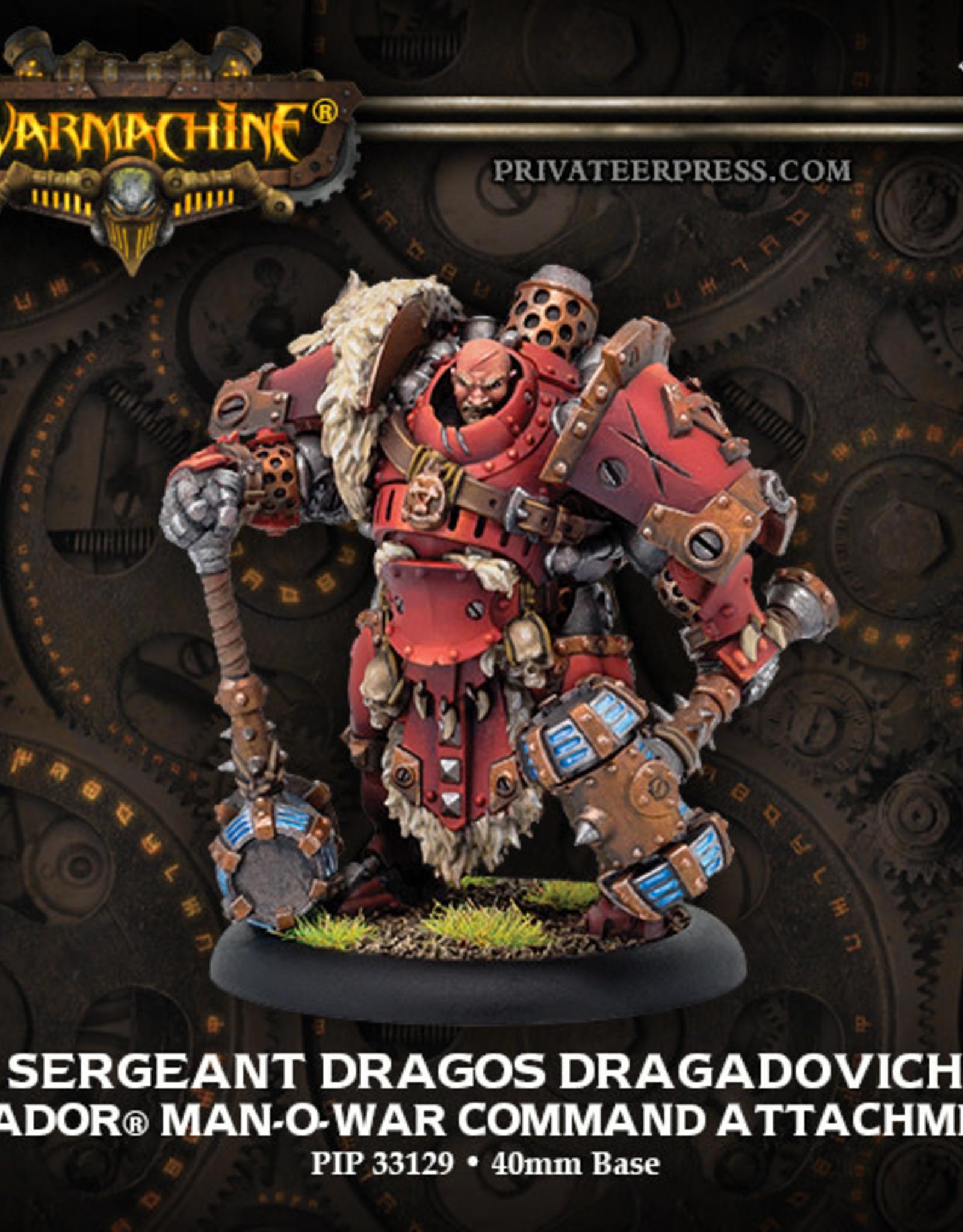 Warmachine Khador - Sergeant Dragos Dragadovich