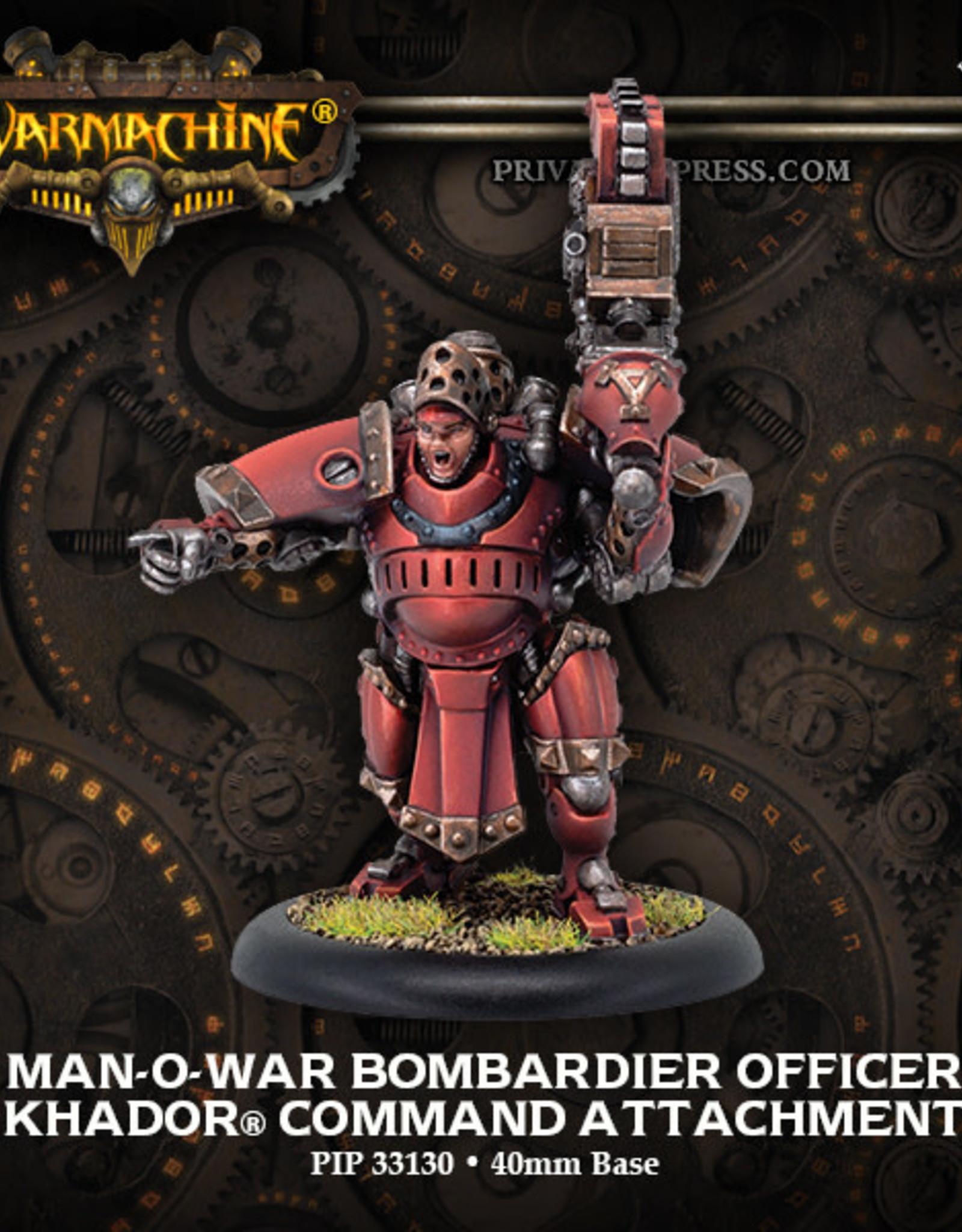Warmachine Khador - Man_O-War Bombard Officer