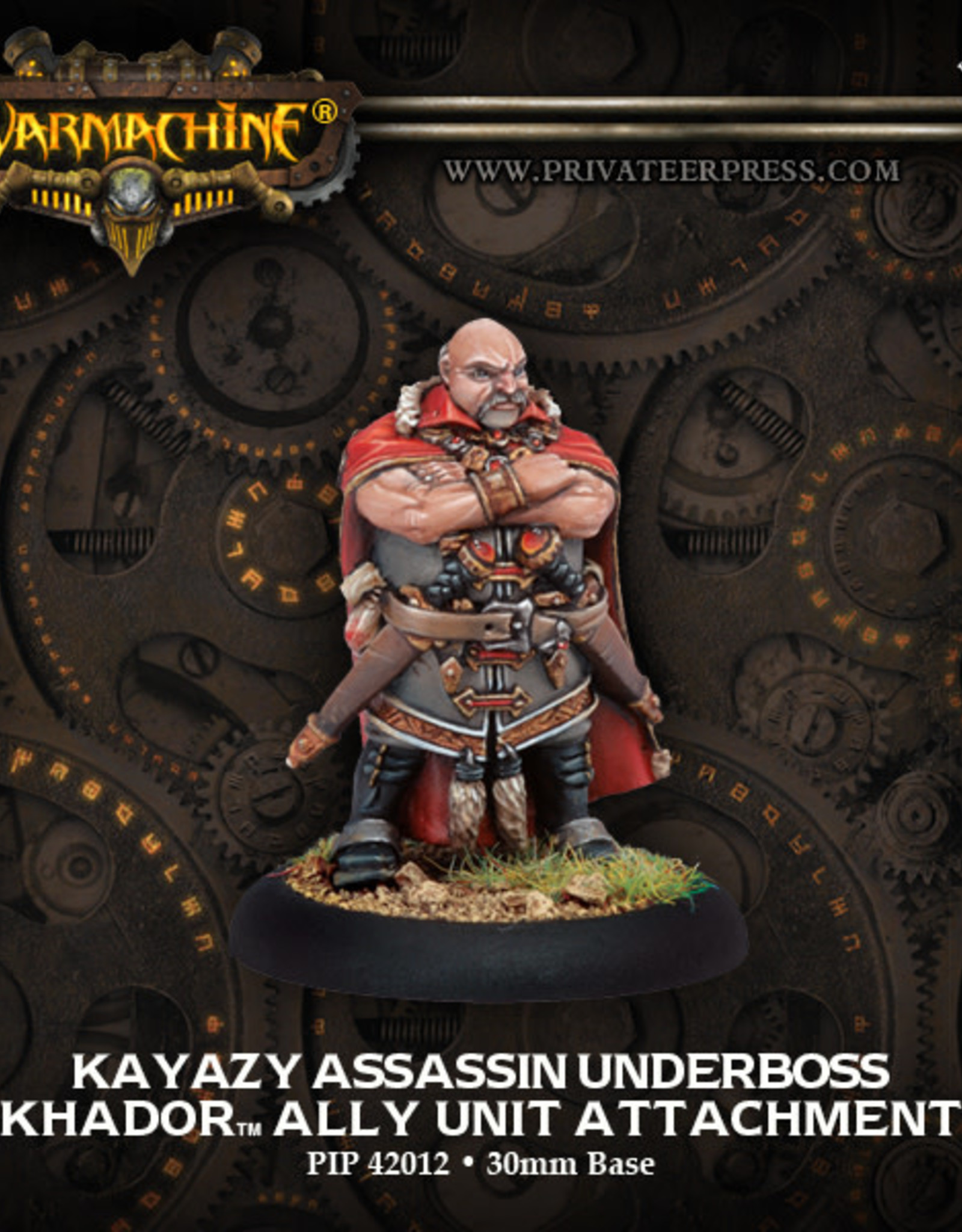 Warmachine Khador - Kayazy Underboss