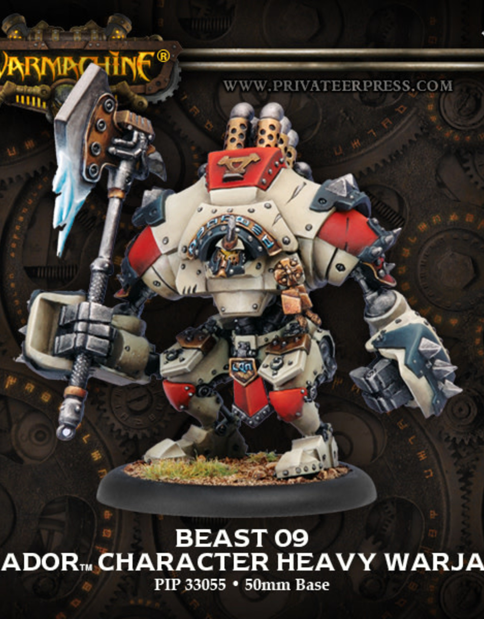 Warmachine Khador - Beast 09