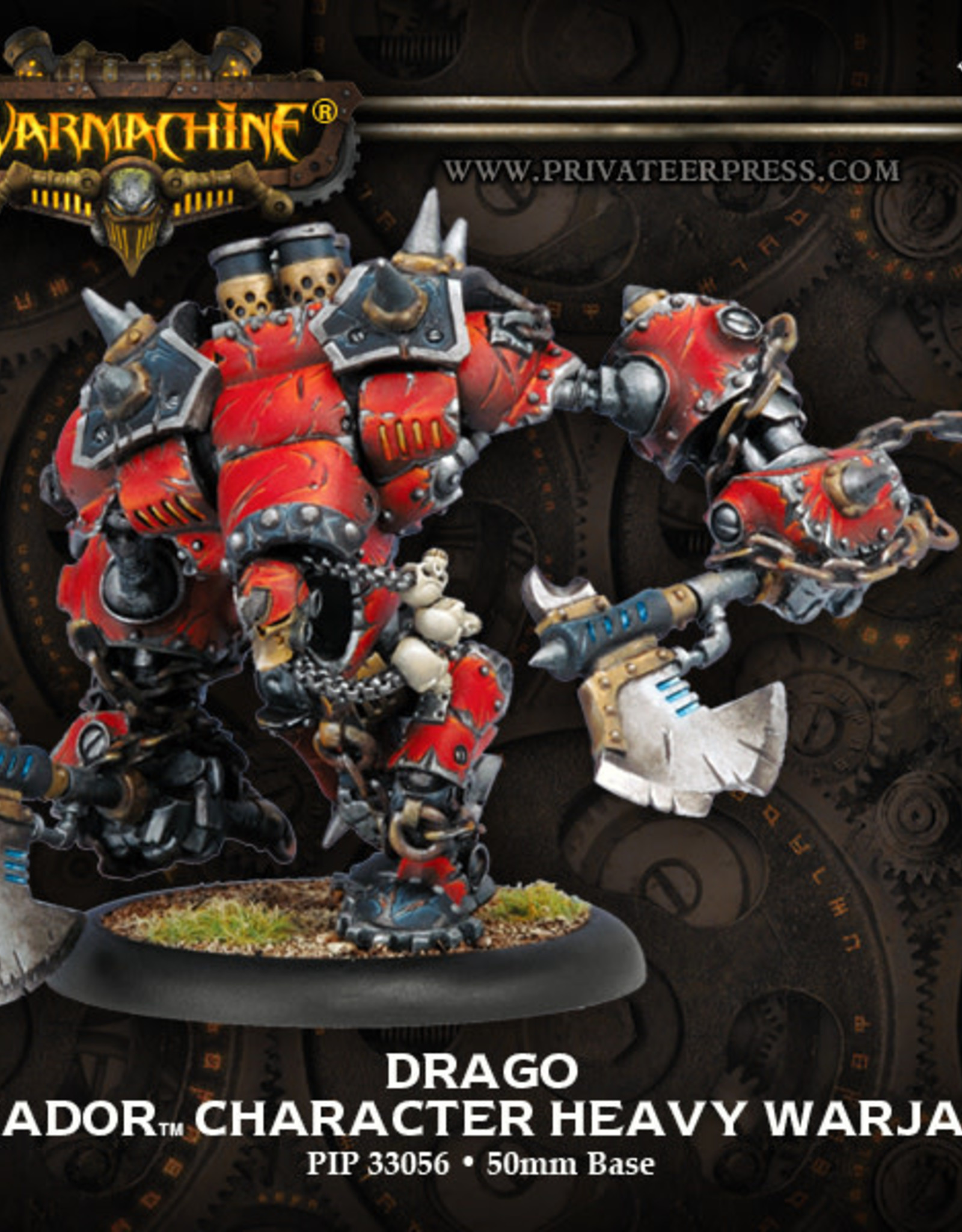 Warmachine Khador - Drago