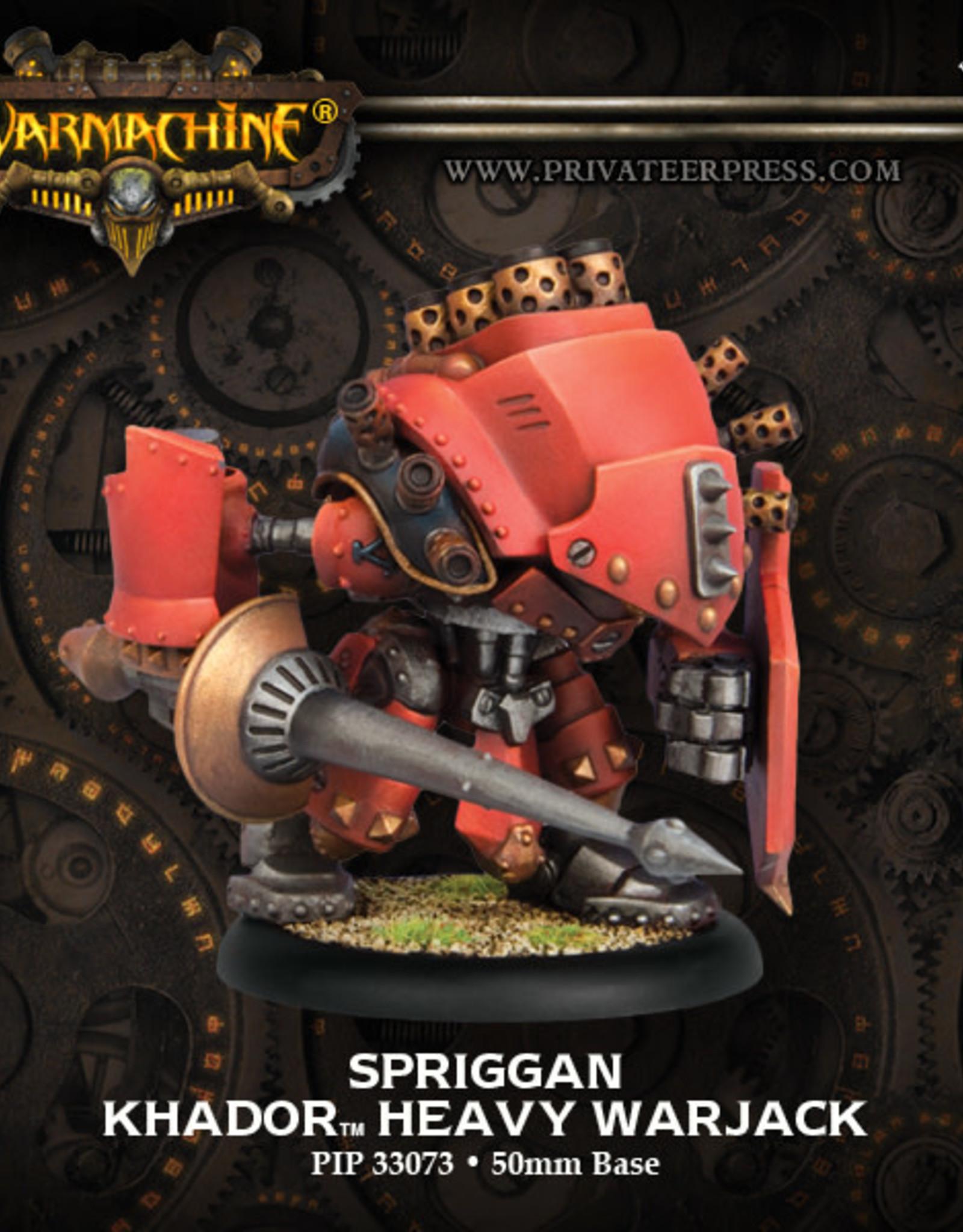 Warmachine Khador - Demolisher/Devastator/Spriggan Kit