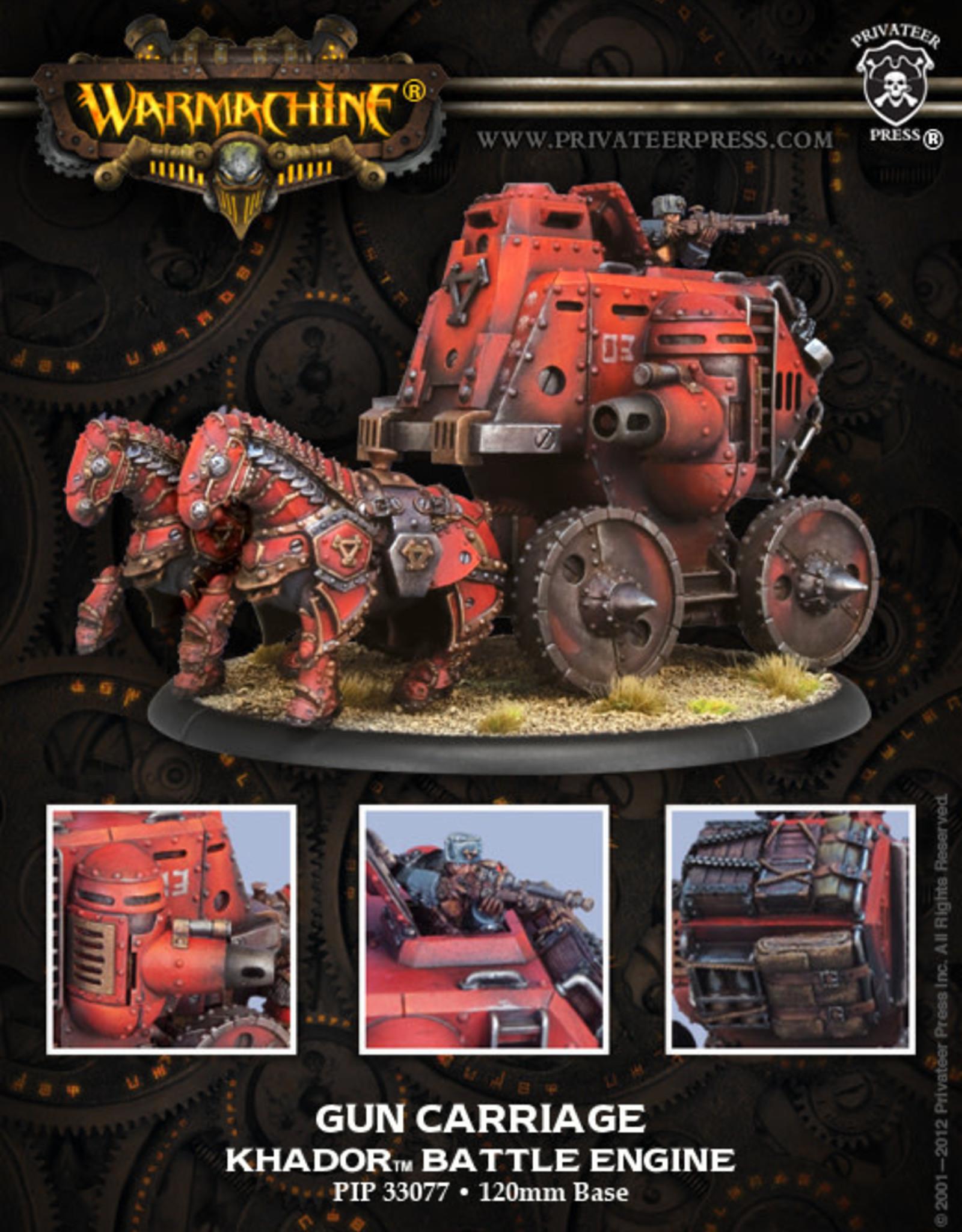 Warmachine Khador - Gun Carriage
