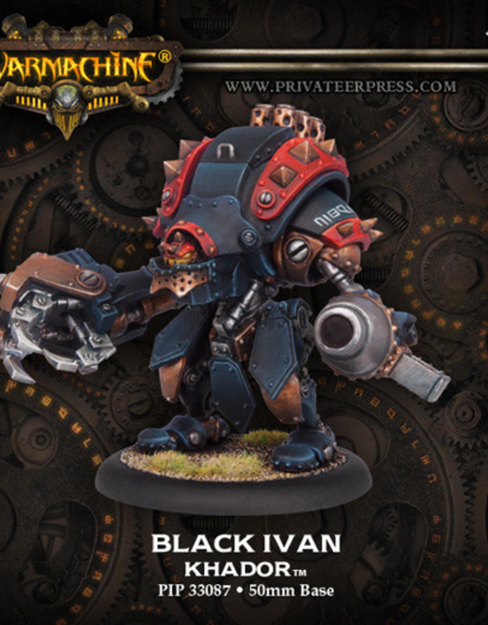 Warmachine Khador - Black Ivan Kit