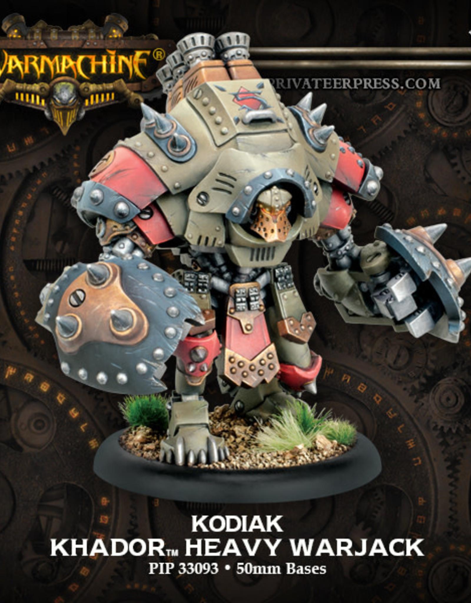 Warmachine Khador - Grolar/Kodiak