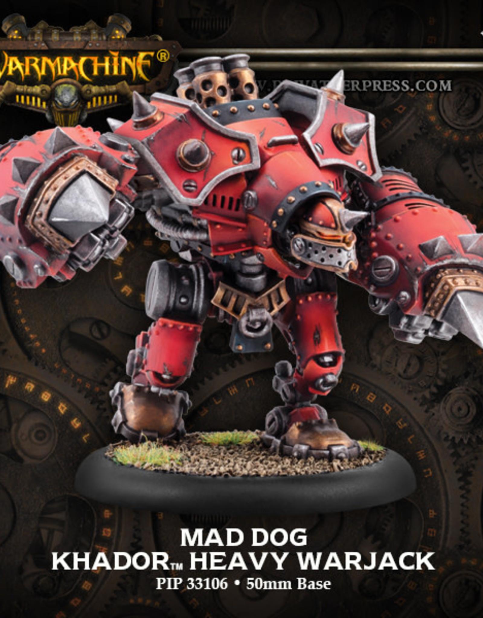 Warmachine Khador - Berserker/Mad Dog/Rager