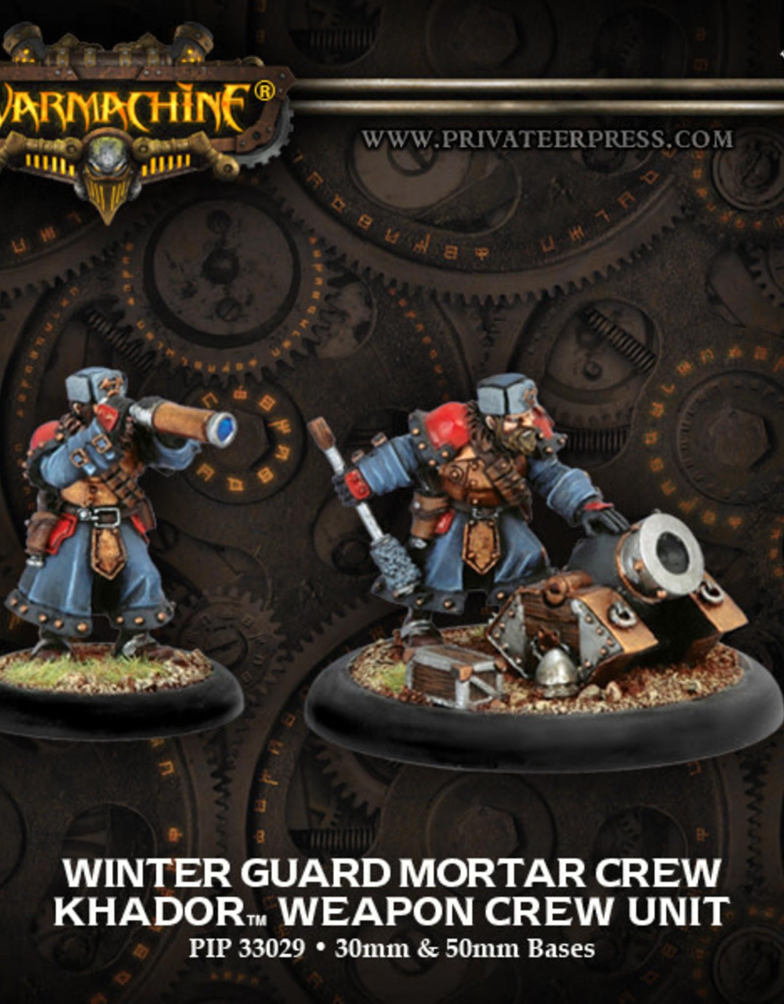 Warmachine Khador - Winterguard Mortar