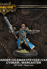 Warmachine Cygnar - Commander Stryker