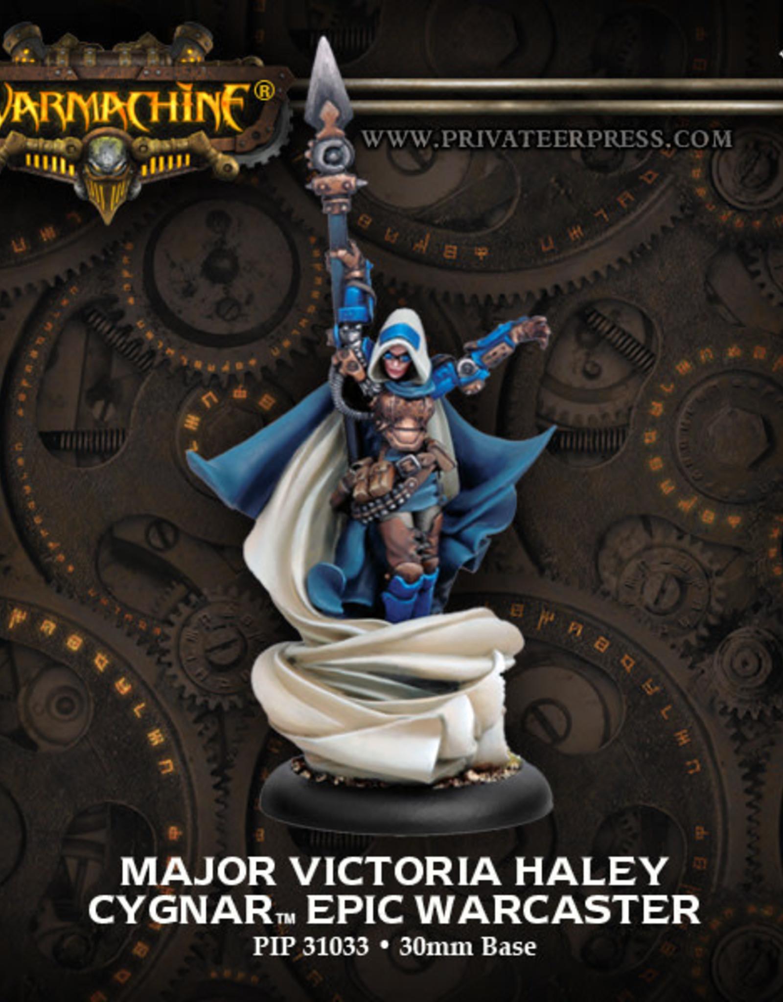 Warmachine Cygnar - Major Haley