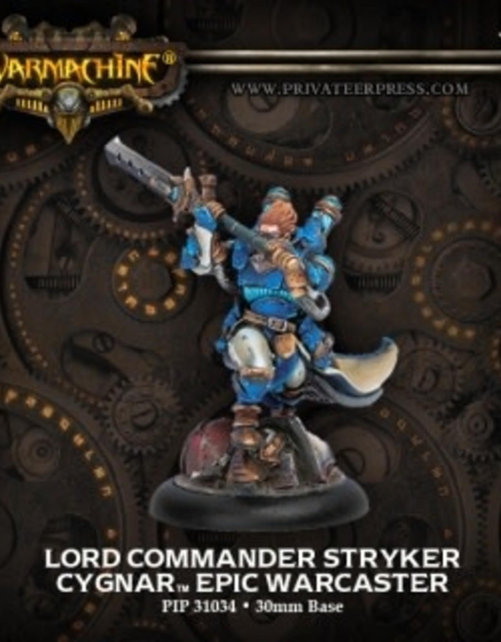 Warmachine Cygnar - Lord Commander Stryker