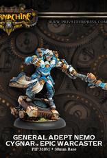 Warmachine Cygnar - General Adept Nemo