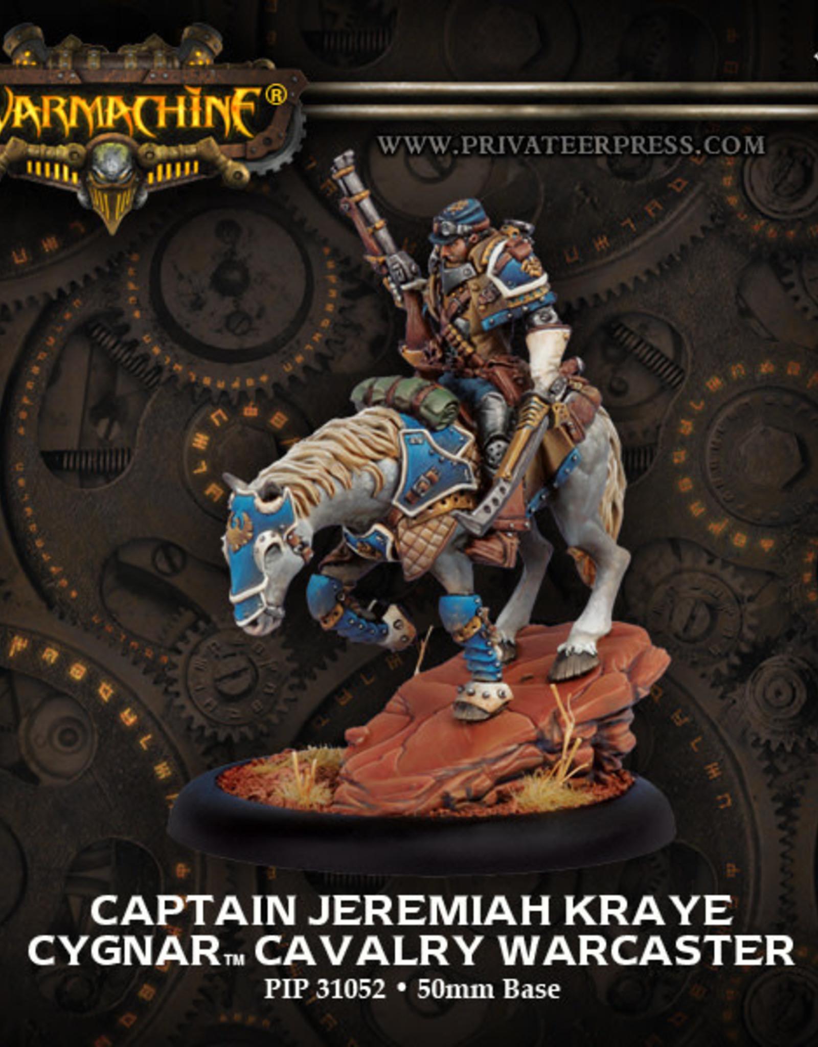 Warmachine Cygnar - Jeremiah Kraye