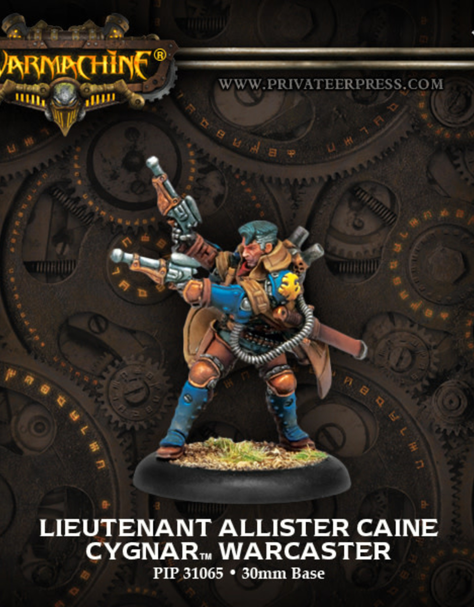Warmachine Cygnar - Lt. Allister Caine